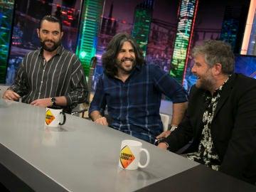 La entrevista completa a Dani Mateo, J.J. Vaquero y Raúl Cimas en 'El Hormiguero 3.0'