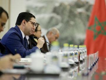 El ministro marroquí de Exteriores, Nasser Burita