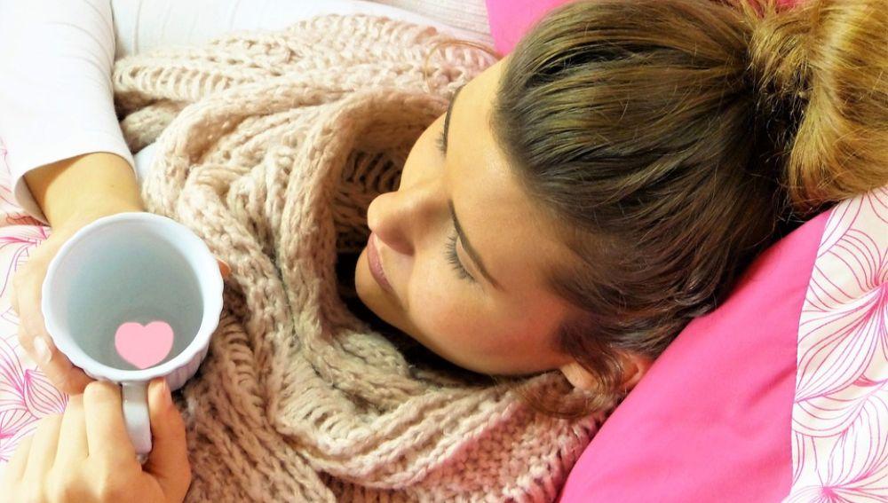 Tener frío siempre puede ser un signo de que no se está comiendo lo suficiente.