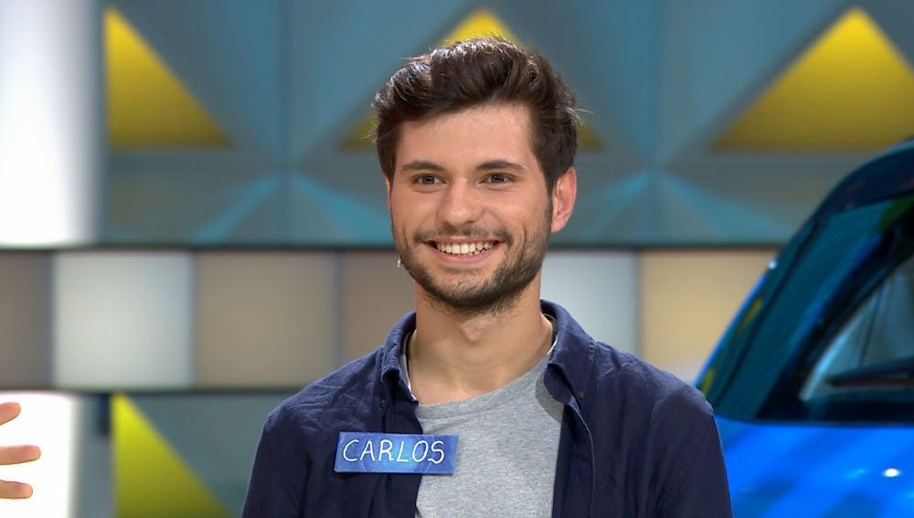Carlos se cuela en la gran final de 'La ruleta de la suerte' con su gran juego