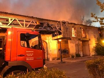 Incendio en el Palacio de Osuna