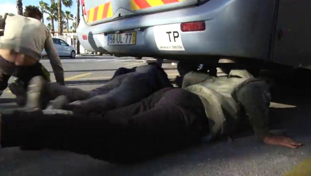 Preocupación en Ceuta con los menores que tratan de entrar ilegalmente en la península