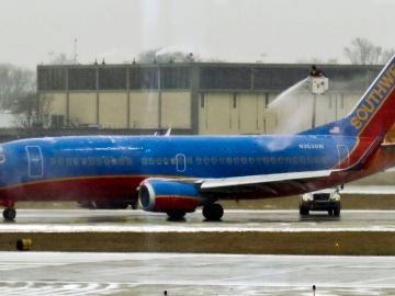 Un avión de la compañía Southwest