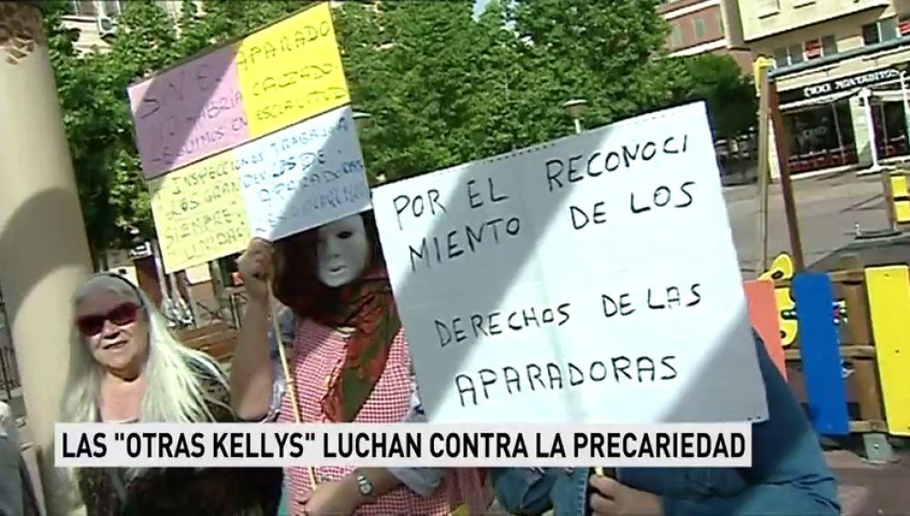 """Las """"otras Kellys"""" luchan contra la precariedad"""
