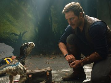 Chris Pratt en 'Jurassic World: El reino caído'