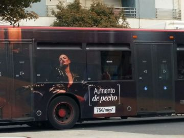 El anuncio que ha sido retirado de los autobuses