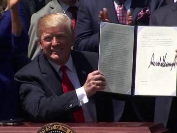 Congresistas republicanos piden el Nobel de la Paz para Trump