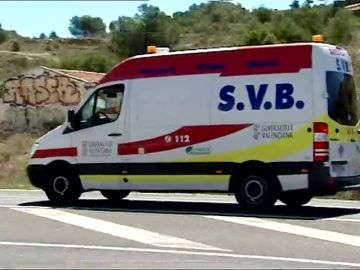 Una ambulancia SVB