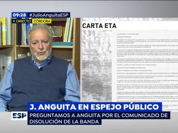 Julio Anguita, exsecretario general de Izquierda Unida