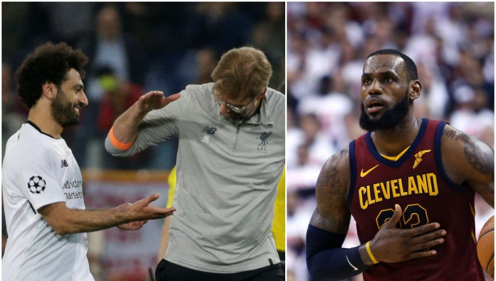 El Liverpool y LeBron James, unidos