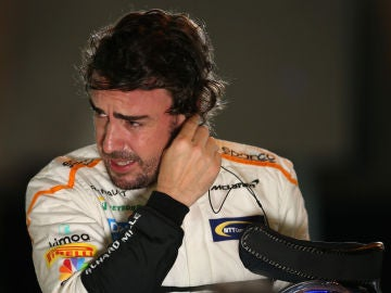 Fernando Alonso, tras una carrera
