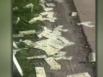 Un furgón blindado pierde 600 mil dólares