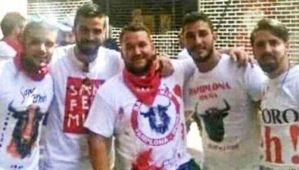 Miembros de 'La Manada'