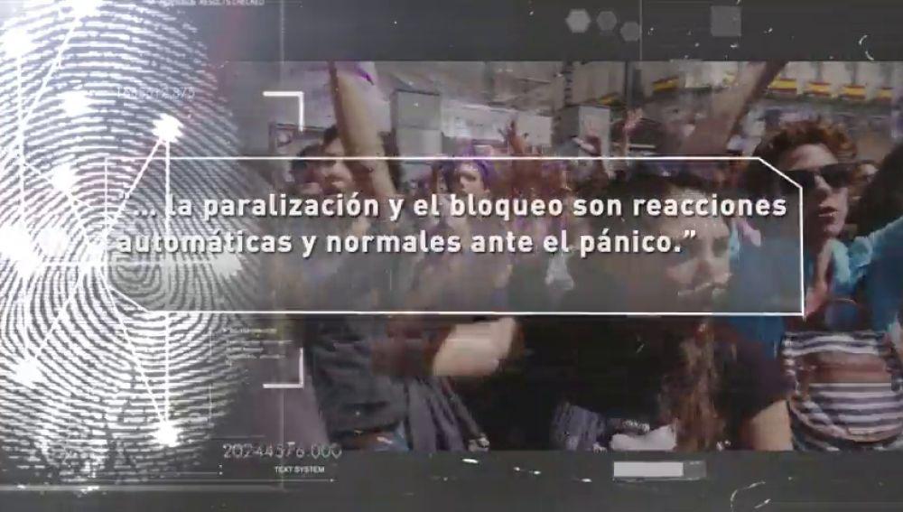 """La carta de 2.000 psicólogos contra 'La Manada': """"El bloqueo es normal ante el pánico"""""""