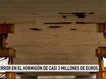 Un error en el hormigón de casi tres millones de euros