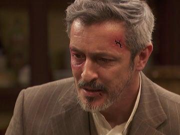 """Alfonso, roto de dolor delante de sus familiares: """"Estoy ciego, maldita sea"""""""