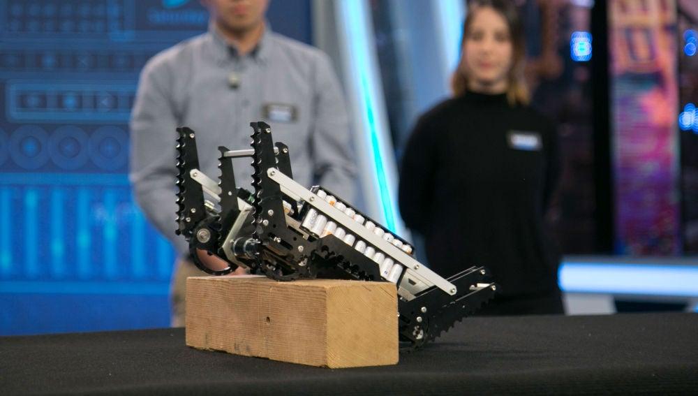 Ciencia con Marron: robot de rescate