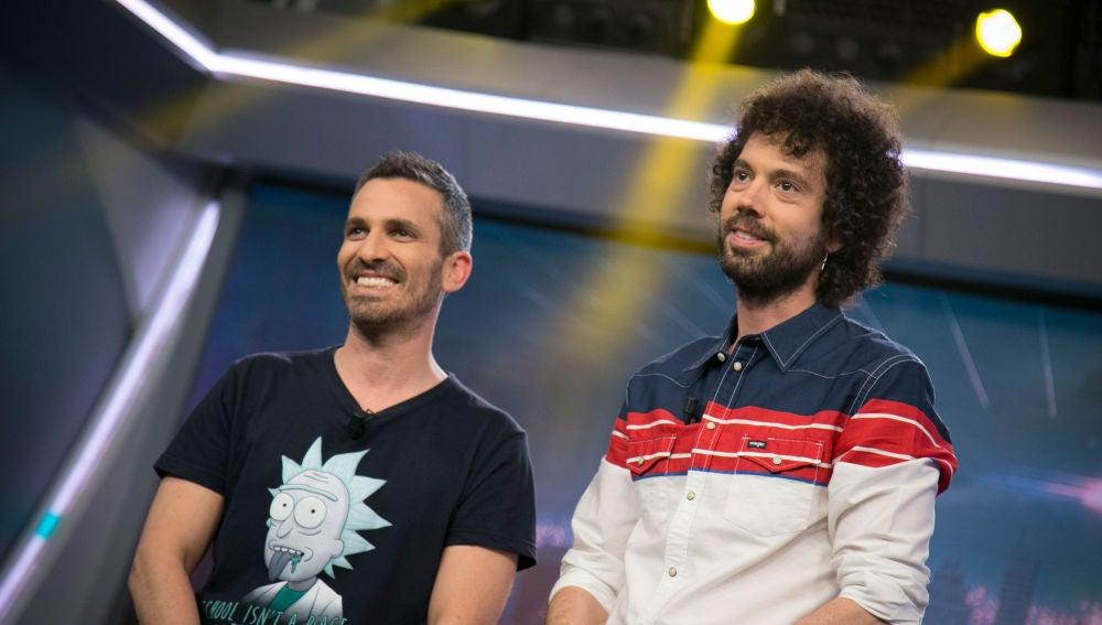 Juan y Damiana en 'El Hormiguero 3.0'