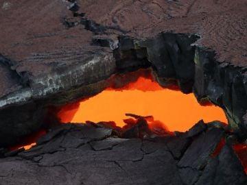 El volcán Kilauea, en erupción