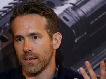 Ryan Reynolds en la gira de 'Deadpool 2'