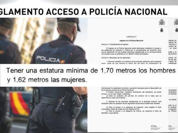 Interior quiere elevar la altura requerida para ser policía nacional