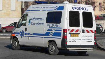 Imagen de archivo de una ambulancia de Francia