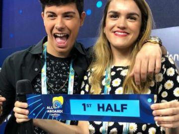 Amaia y Alfred actuarán en la primera mitad de Eurovisión