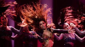 Actuación de Chipre en la semifinal de Eurovisión