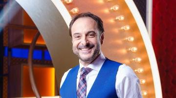 Roberto Vilar, presentador de 'La noche de Rober'