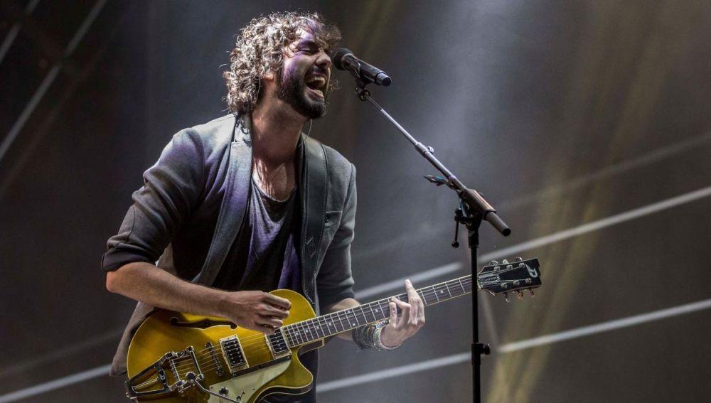 Mikel Izal, cantante del grupo indie Izal
