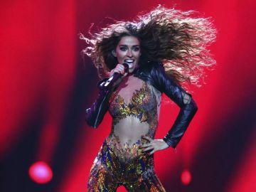 Eleni Foureira, representante de Chipre en Eurovisión