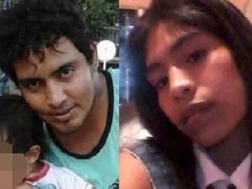 Sergio Carmona y Antonela Rivas, padres que presuntamente han matado a su hijo en Argentina