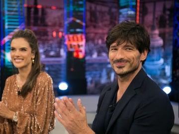 Andrés Velencoso y Alessandra Ambrosio explican su experiencia como actores