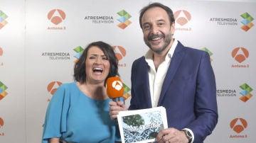 Roberto Vilar reta a Silvia Abril a aprender gallego antes del estreno de 'La noche de Rober'
