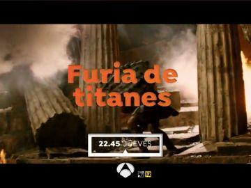 Antena 3 emite la película 'Furia de titanes'