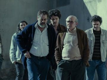 Imagen del final de 'Fariña'