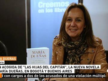 María Dueñas triunfa en Latinoamérica con el desembarco de su novela 'Las Hijas del Capitán'