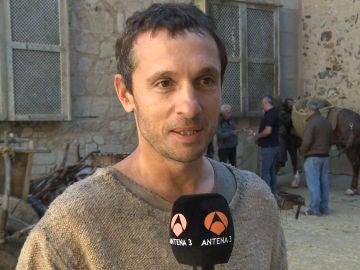 """Pablo Derqui: """"'La Catedral del Mar' es una historia de emociones fuertes en la Barcelona medieval"""""""