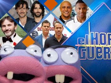 Roberto Carlos y Julio Baptista, Fernando Tejero, Aitor Luna y Daniel Grao y Ryan Reynolds y Josh Brolin se divertirán en 'El Hormiguero 3.0'