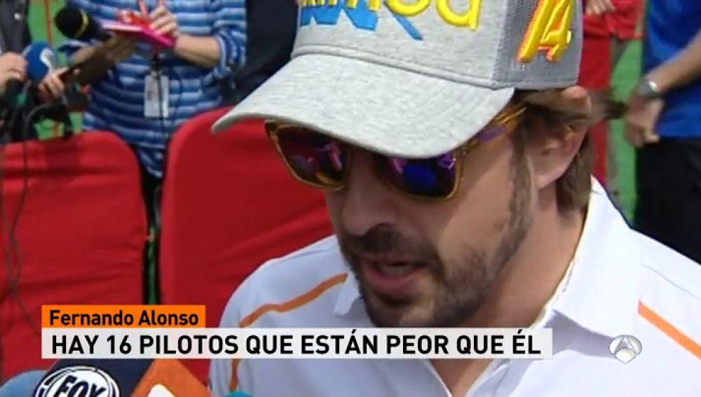 """El palo de Fernando Alonso a la parrilla de la F1: """"De la actual parrilla, hay 16 pilotos más jodidos que yo"""""""