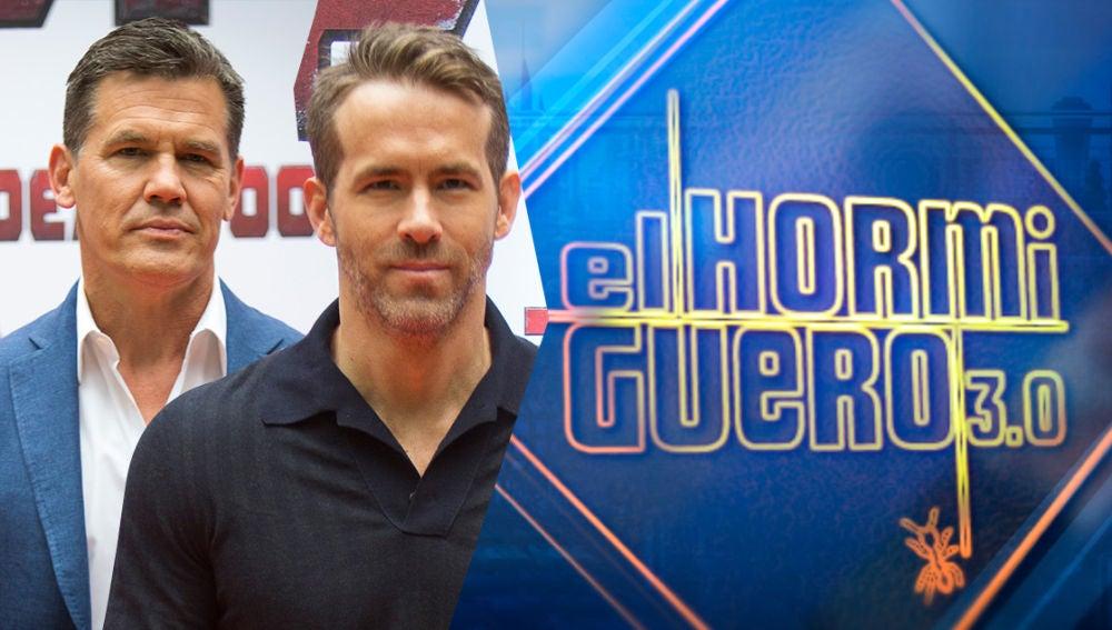 El jueves, 17 de mayo, recibimos una nueva visita de Hollywood, la de las estrellas Ryan Reynolds y Josh Brolin
