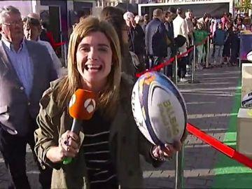 Bilbao ya respira rugby: la capital vizcaína se prepara para acoger a más de 100.000 hinchas del deporte oval
