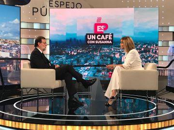 Mariano Rajoy y Susanna Griso