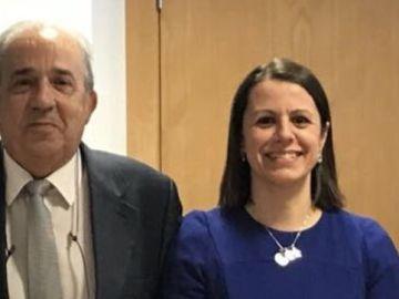 Enrique Álvarez Conde y Alicia López de los Mozos