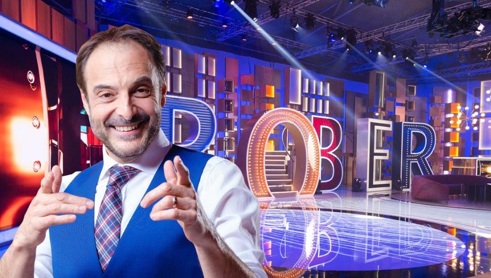 Roberto Vilar nos enseña en exclusiva el plató de 'La noche de Rober' antes de su estreno el viernes