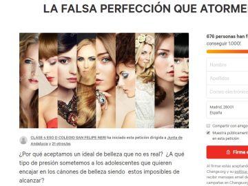 La petición lanzada por los alumnos de Cádiz
