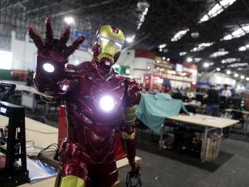 La armadura, valorada en 325.000 dólares, se encontraba en un almacén de la localidad de Pacoima