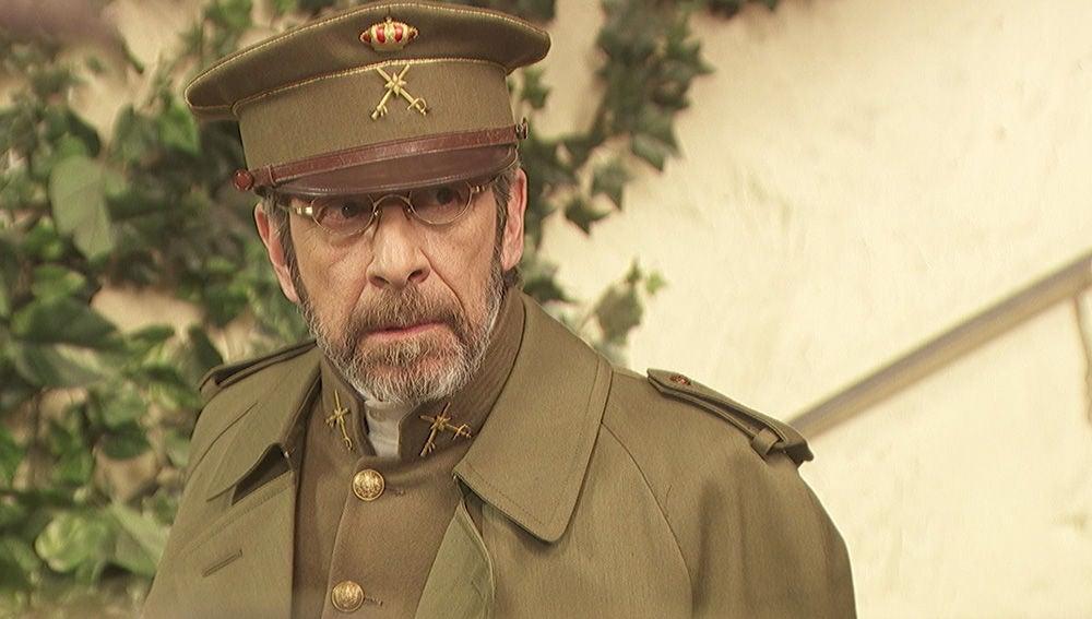 La vida del general Pérez de Ayala da un giro inesperado