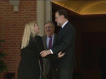 Rajoy, víctimas de ETA