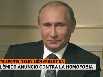 El anuncio argentino del Mundial que carga contra Putin y la homofobia en Rusia